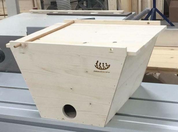 prendi sciami modulare per Top Bar - progetto potere allo sciame - Scuola Ambulante di Agricoltura